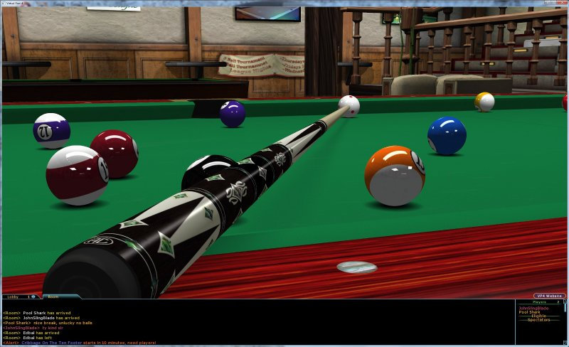 Click to view Virtual Pool 4 Online screenshots
